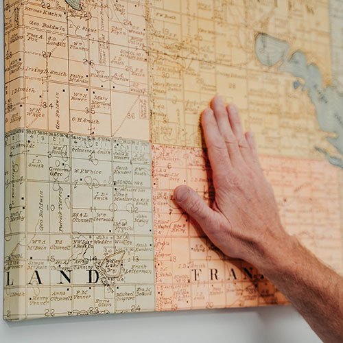 County Land Owner Map Collection
