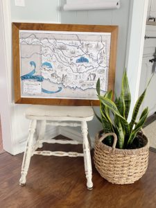 Vintage Map Gift For Real Estate Closing