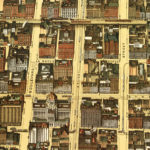 Vintage Map of Chicago, Illinois 1898