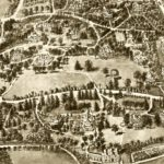 Vintage Map of Manchester, Connecticut 1914