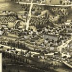 Vintage Map of Peterborough, New Hampshire 1886
