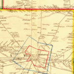 Vintage Map of Genesee County, New York 1854