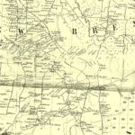 Vintage Map of Lewis County, New York 1857