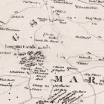 Vintage Map of Prince George County, Maryland 1861