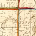 Vintage Map of Branch County, Michigan 1858