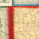 Vintage Map of Genesee County, Michigan 1859