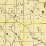 Vintage Map of Perry County Indiana, 1876