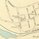 Vintage Map of Stafford Springs, Connecticut 1893
