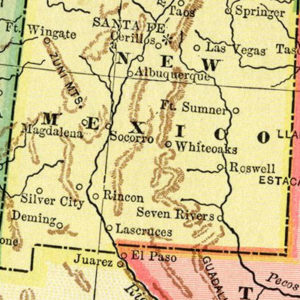 Vintage New Mexico Maps