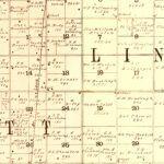 Vintage Map of Buena Vista County, Iowa 1901