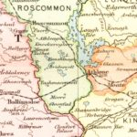 Vintage Map of Ireland 1891