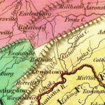 Vintage Map of Pennsylvania 1831