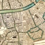 Vintage Map of Venice, Italy 1838